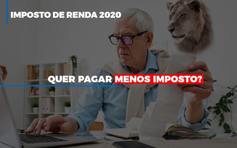 Imposto De Renda 2020 - Contabilidade em São Paulo | ECONSA Contabilidade e Gestão Empresarial