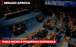 Senado Aprova Linha De Crédito De R$190 Bi Para Micro E Pequenas Empresas - Contabilidade em São Paulo | ECONSA Contabilidade e Gestão Empresarial