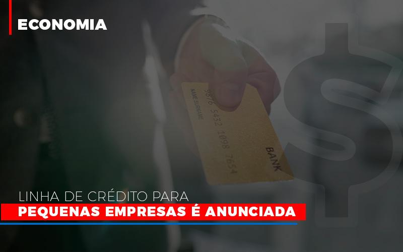 Linha De Credito Para Pequenas Para Pequenas Empresas E Anunciada - Contabilidade em São Paulo | ECONSA Contabilidade e Gestão Empresarial