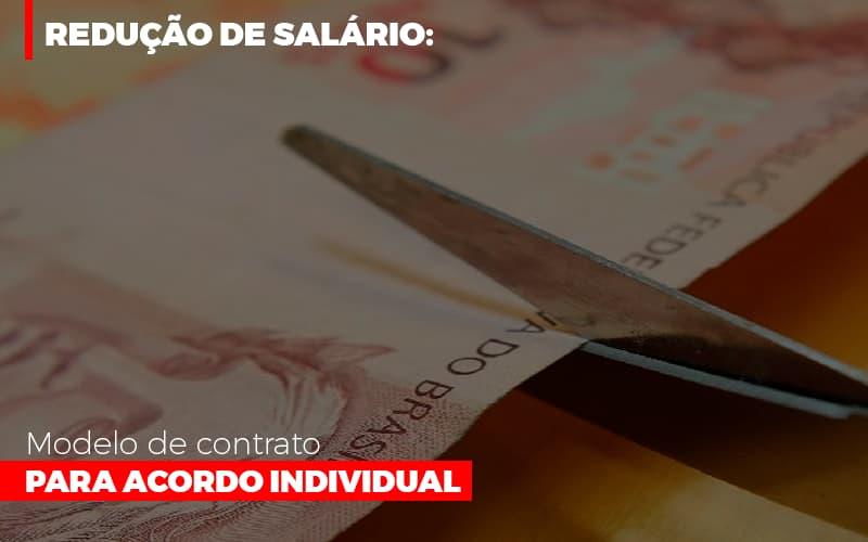 Reducao De Salario Modelo De Contrato Para Acordo Individual - Contabilidade em São Paulo | ECONSA Contabilidade e Gestão Empresarial