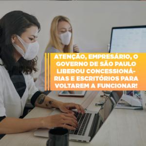 Sp Assina Hoje Autorizacao Para Reabertura De Concessionarias E Escritorios - Contabilidade em São Paulo | ECONSA Contabilidade e Gestão Empresarial